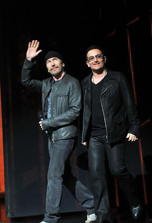 U2 Wrapping New Album in New York
