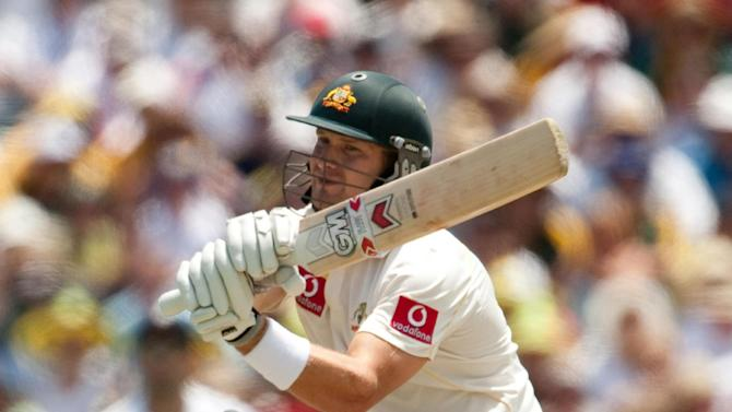 Shane Watson could recover from injury to face South Africa in the second Test