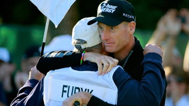 Golf - Furyk again falls short after holding 54-hole lead