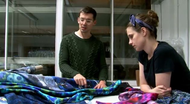 WATCH Erdem Prepare His Autumn Winter 2012 Collection: EXCLUSIVE VIDEO