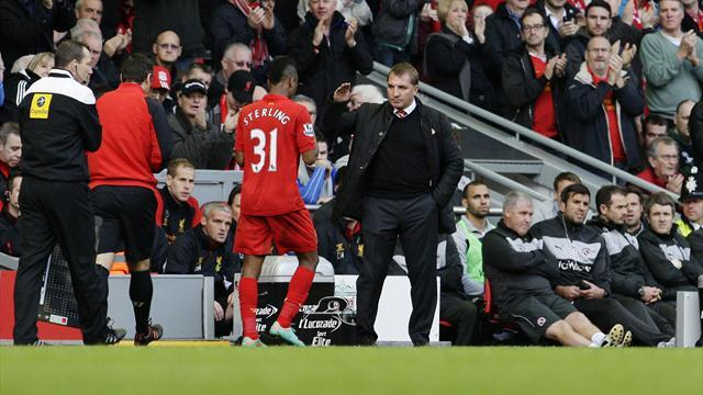Premier League - Sterling hails Rodgers support