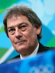 """World Anti-Doping Agency (WADA) director-general David Howman answers questions during a press conference ahead of the 2010 Winter Olympics in Vancouver, Canada. Howman said the British Olympic Association (BOA) had """"wasted a lot of time and money"""" appealing to the Court of Arbitration for Sport (CAS) on lifetime bans for drug cheats"""