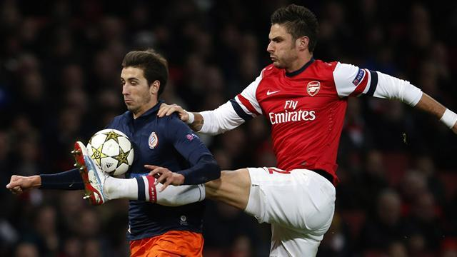 Football - Giroud finding rhythm at Arsenal