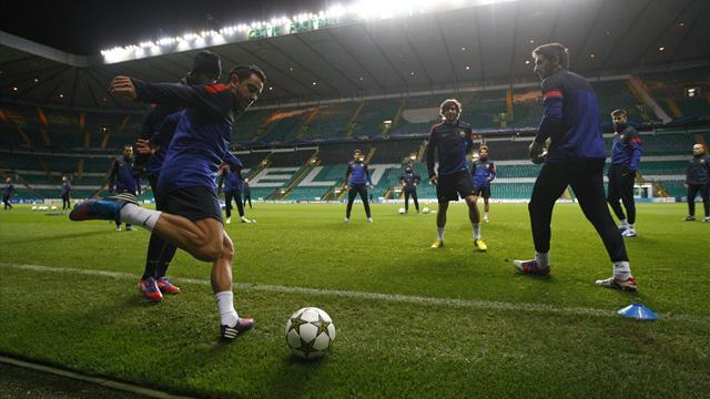Scottish Football - Celtic will look to attack Barcelona