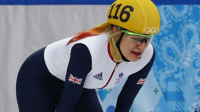 Short Track - Britain's Christie thrown out of 1500m for 1cm blunder