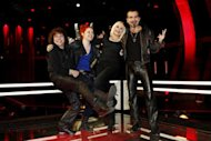 I quattro coach di 'The Voice of Italy'
