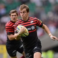 Chris Wyles scored a try as Saracens defeated Racing Metro