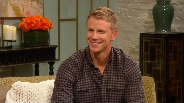 'Bachelor' Sean Lowe stops by Access Hollywood Live on January 10, 2013 -- Access Hollywood