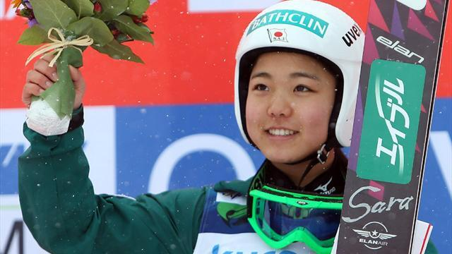 Ski Jumping - World Cup leader Takanashi does double in Zao