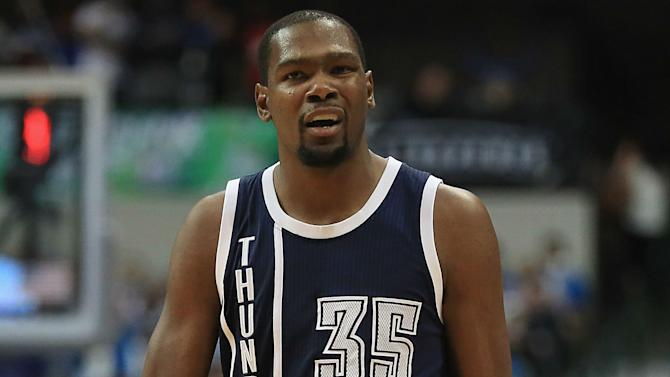 Kevin Durant on free agency: 'I'll think about that stuff, I don't know when'