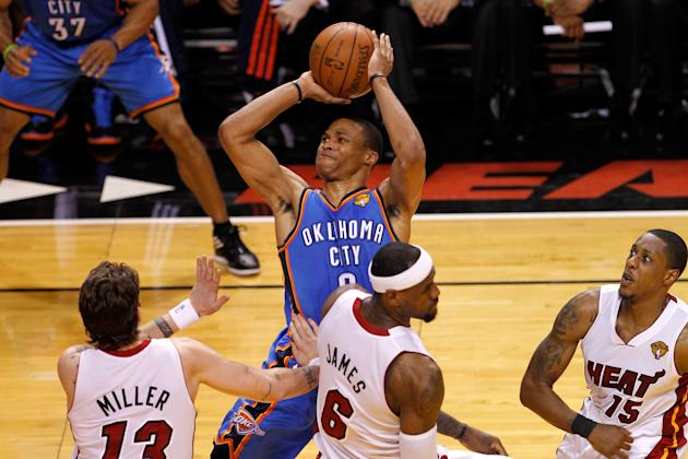 Oklahoma City Thunder v Miami Heat - Game Five