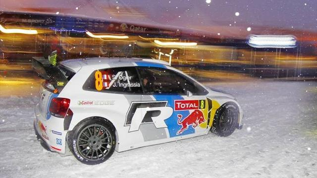 Sweden Rally - Ogier and VW top Sweden qualifying