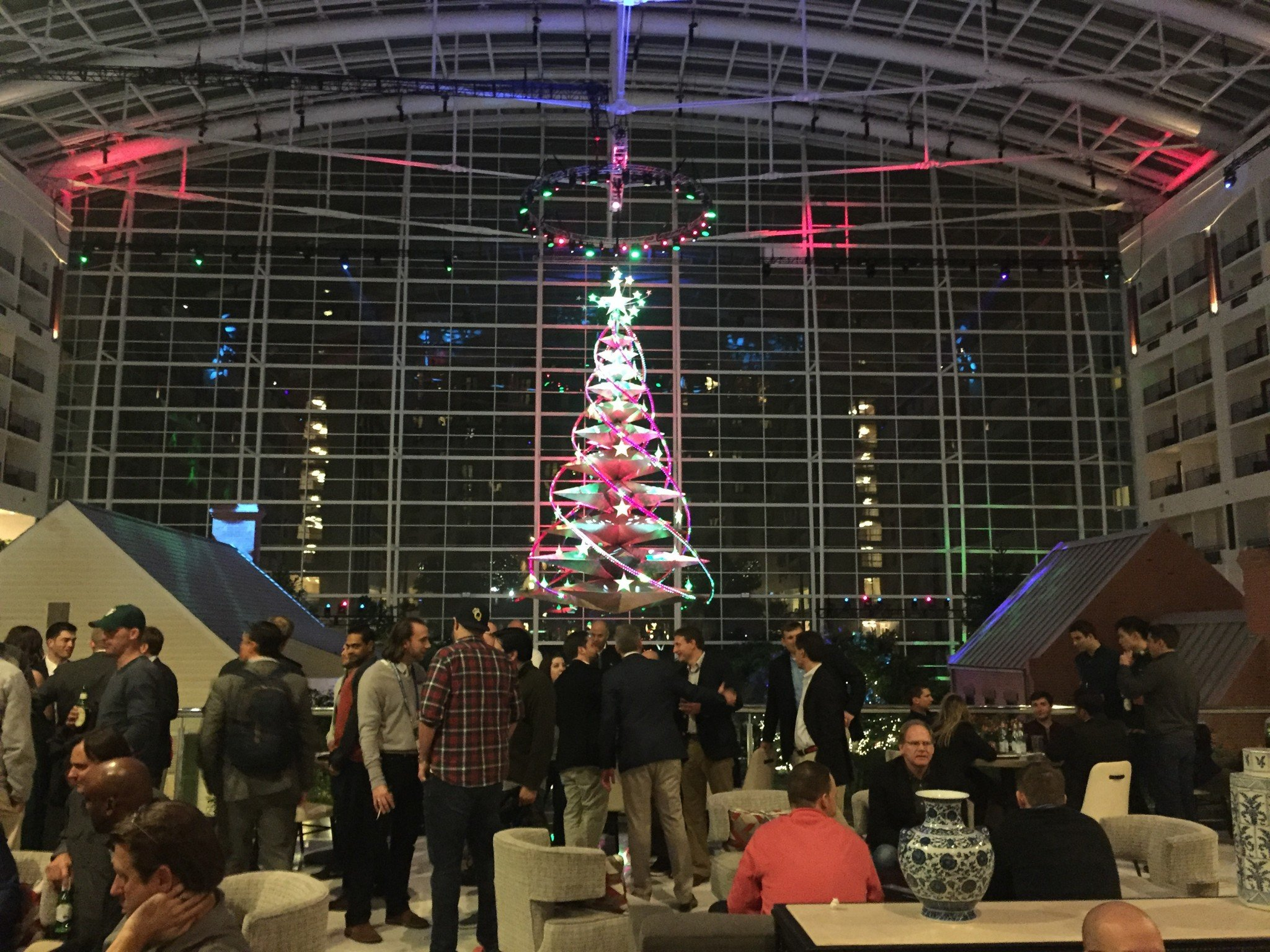 This is the 2016 Winter Meetings biodome. (Yahoo Sports)