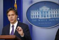 U.S. Deputy National Security Advisor Tony Blinken speaks on Syria at the White House in Washington, September 9, 2013. REUTERS/Kevin Lamarque