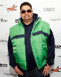 Heavy D attends T.I.'s AKOO Clothing First Annual A King Of Oneself Brunch at The Mansion, Atlanta, Georgia, on October 2, 2011 -- Getty Premium