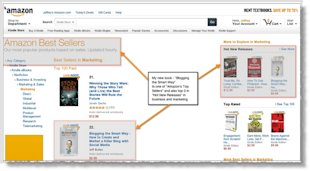 Should You Sell Your eBook on Amazon or Your Blog? image Blogging the smart way Amazon Best seller