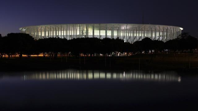 World Cup - Most expensive Brazil 2014 stadium has leaking roof