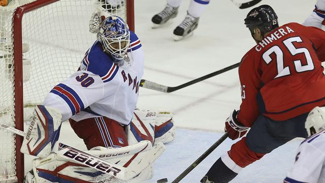 Ice Hockey - Capitals beat Rangers to extend lead