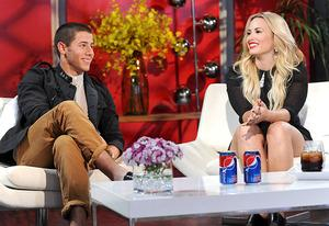 Nick Jonas and Demi Lovato | Photo Credits: Ray Mickshaw/FOX