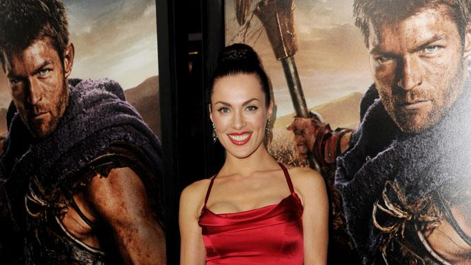 "Premiere Of Starz's ""Spartacus: War Of The Damned"" - Red Carpet: Luna Rioumina"