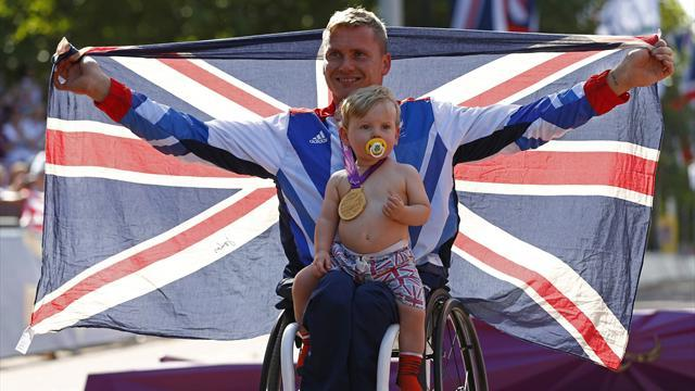 Athletics - Paralympic hero wins battle for downstairs loo