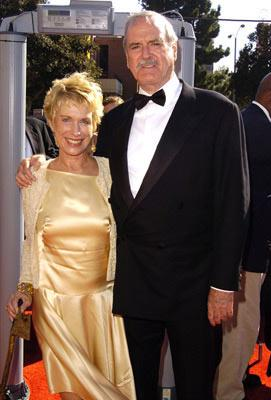 John Cleese and wife Alice Faye Eichelberger 2004 Emmy Creative Arts Awards Arrivals - 9/12/2004
