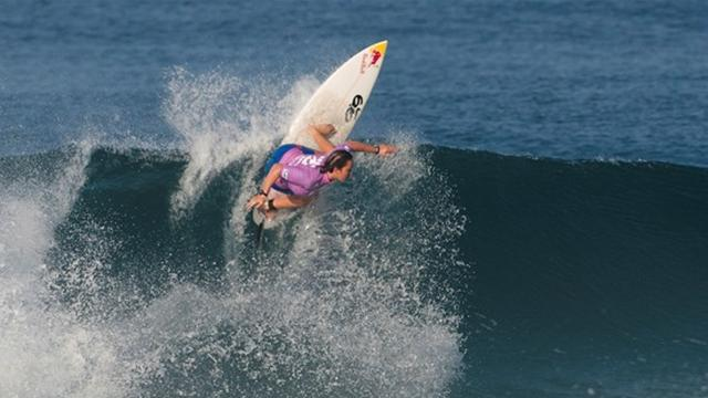 Surfing - Quarter finals of Colgate Plax Girls Rio Pro decided