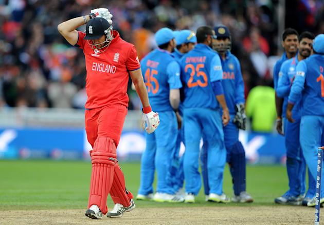 Champions Trophy:  India vs Englandv