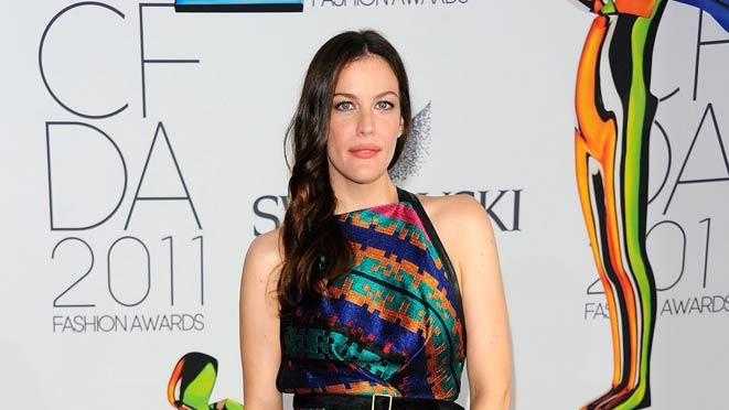 Liv Tyler CFDA Awards