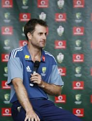 Australian batsman Simon Katich, seen here in 2010, on Tuesday announced his retirement from first-class cricket in Australia, citing family reasons