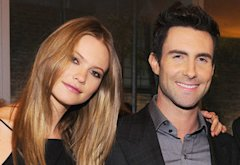 Behati Prinsloo, Adam Levine | Photo Credits: Dimitrios Kambouris/Getty Images