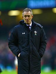 "Wales great Shane Williams says interim coach Rob Howley (pictured)the ""interim coach"" ought to carry the can for any criticism coming Alex Cuthbert's way"