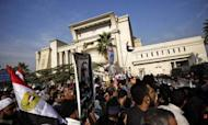 Egyptian Protesters Scare Away Court Judges