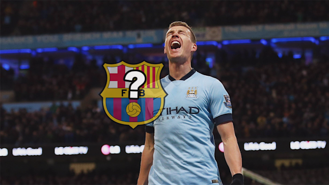 Football - Euro Papers: Edin Dzeko handed Man City exit route - by Barcelona?
