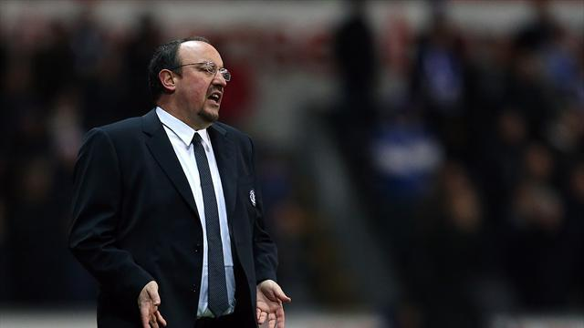 Premier League - Benitez plays down bust-up reports
