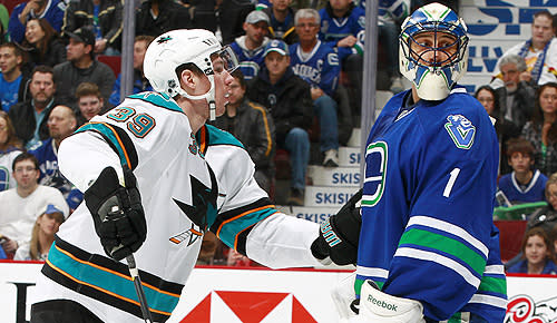 San Jose Sharks vs. Vancouver Canucks