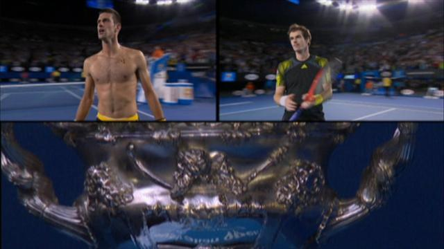 Australian Open - Djokovic enjoys Murray rivalry