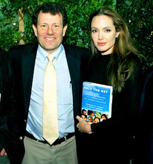 "Angelina Jolie ""So, So Grateful"" for Public Support, Pal Nicholas Kristof Says"
