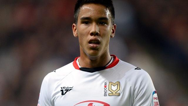 League One - MK Dons wait on Chicksen signature