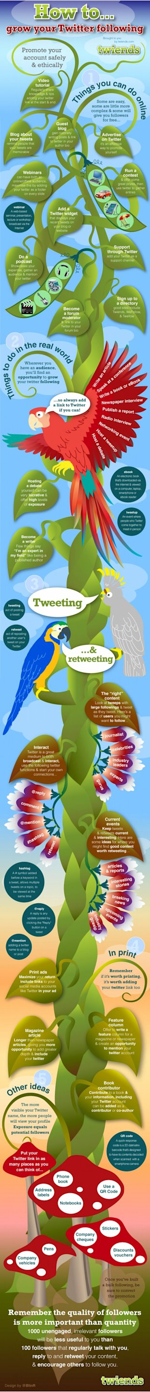 40 Ways To Increase Your Twitter Followers (Infographic) image How to Increase your Twitter Followers