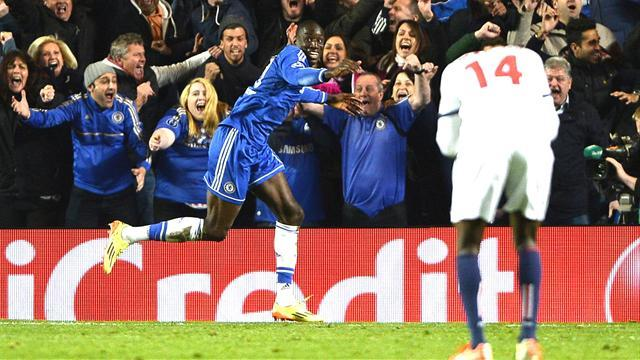 Champions League - Late goal from Ba sends Chelsea through on away goals