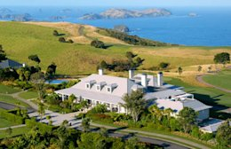 Lodge at Kauri Cliffs, New Zealand (Courtesy of Kauri Cliffs)