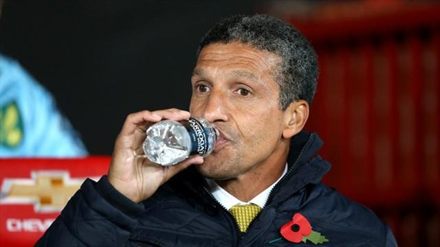 Football - Hughton stays calm amid poor run