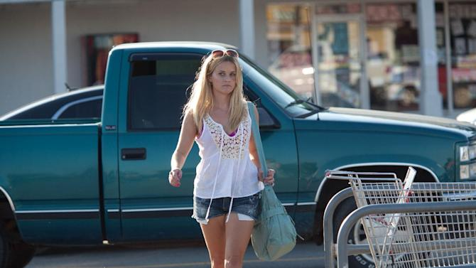 "This film image released by Roadside Attractions shows Reese Witherspoon in a scene from ""Mud."" (AP Photo/Roadside Attractions, Jim Bridges)"