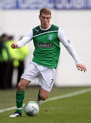 David Wotherspoon netted the third goal for Hibs