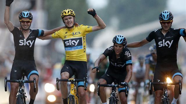 Tour de France - Out of Africa to Tour champion, Froome completes journey
