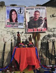 Peruvian shamans perform a ritual of spiritual punishment for Dutch national Joran Van der Sloot in Lima in January 2012. Van der Sloot killed Stephany Flores in a hotel in the Miraflores district of Lima after meeting his victim in a casino, where they played poker