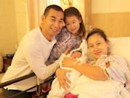 Vincent Zhao fathers a second son