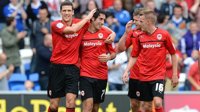 Whittingham treble seals Cardiff win