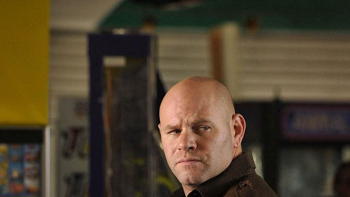 "Domenick Lombardozzi as Ray Zancanelli in ""Breakout Kings."""